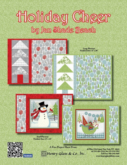 Holiday Cheer Placemats