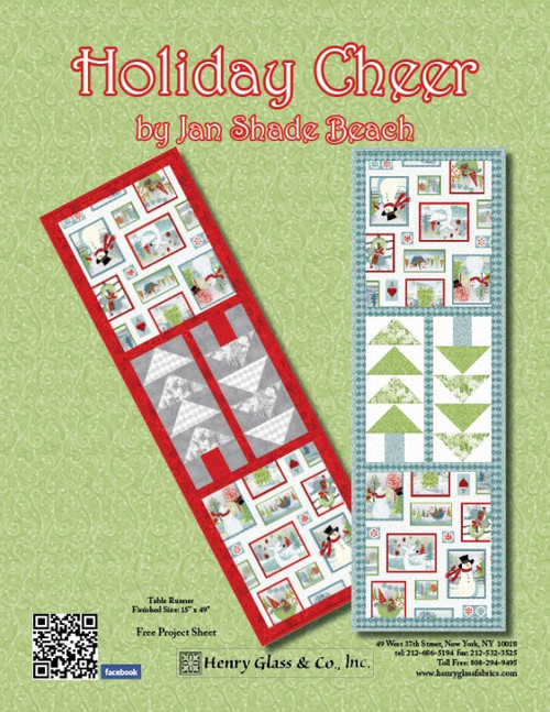 Holiday Cheer- Table Runner