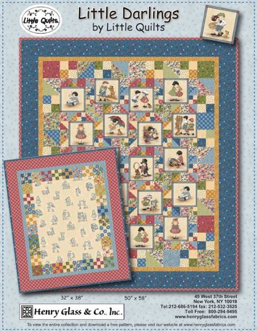 Little Darlings By Little Quilts