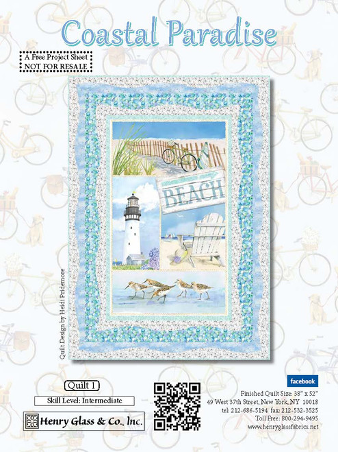Coastal Paradise Quilt #1