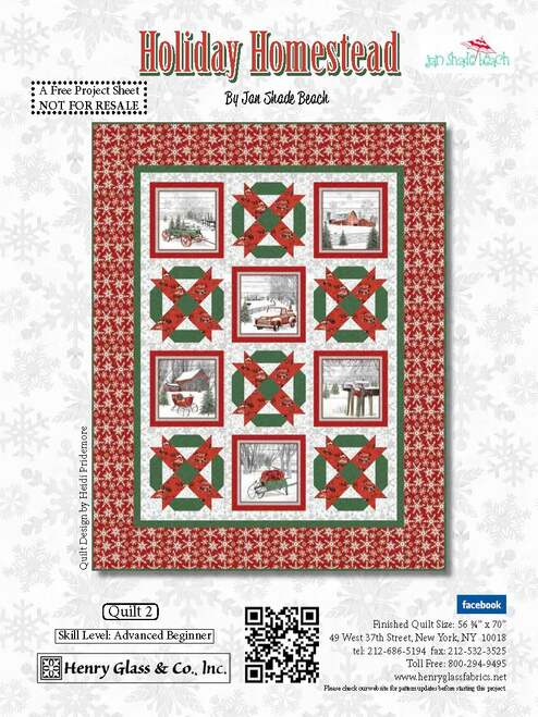 Holiday Homestead Quilt #2