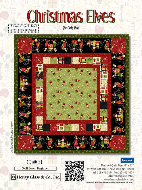 Christmas Elves Quilt #2