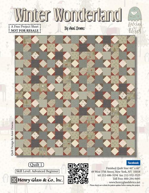 Winter Wonderland Quilt #1