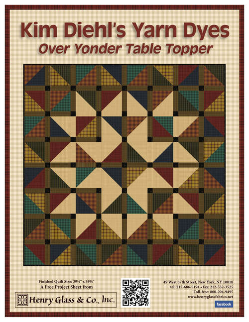 Helping Hands Yarn Dyes Table Topper