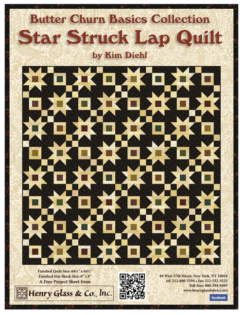 Star Struck Lap Quilt