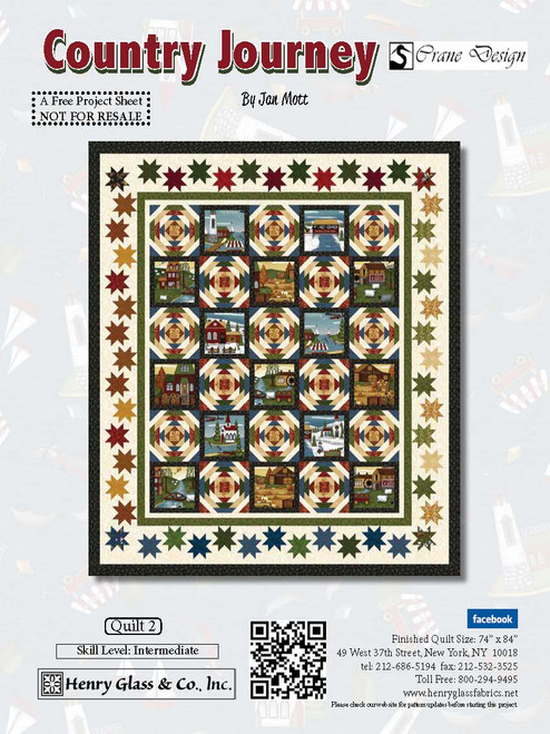 Country Journey Quilt #2