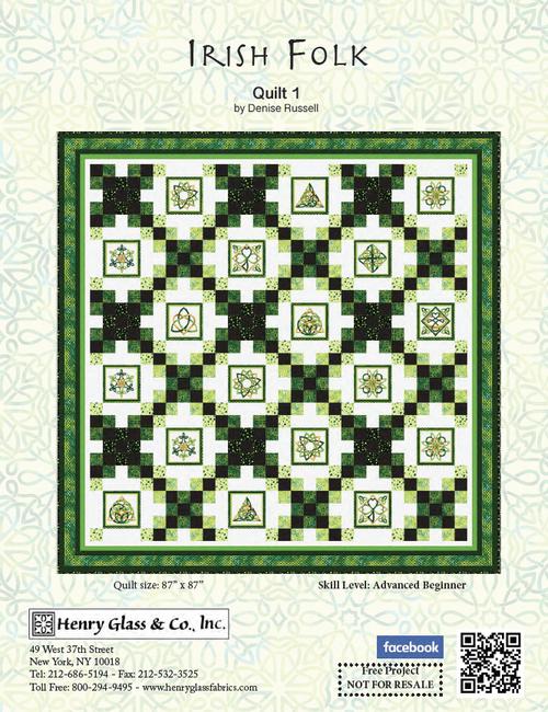 Irish Folk Quilt #1