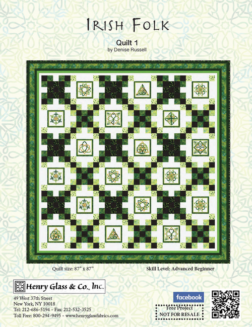 Irish Folk Quilt #1