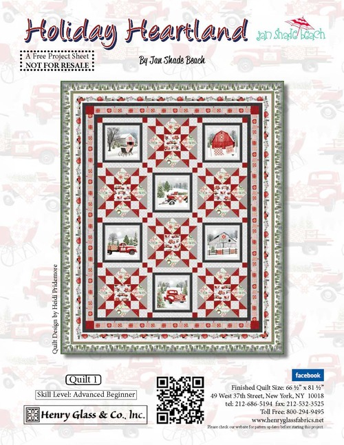 Holiday Heartland Quilt #1