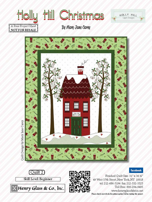 Holly Hill Christmas Quilt #2