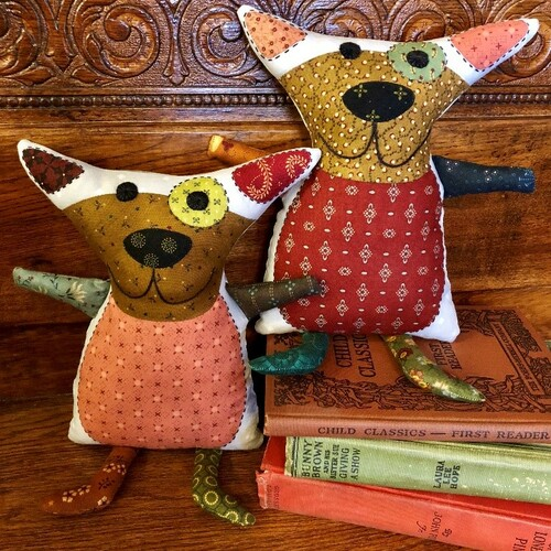 Sparky the Snuggle Critter by Kim Diehl