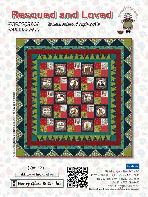 Rescued and Loved Quilt #2