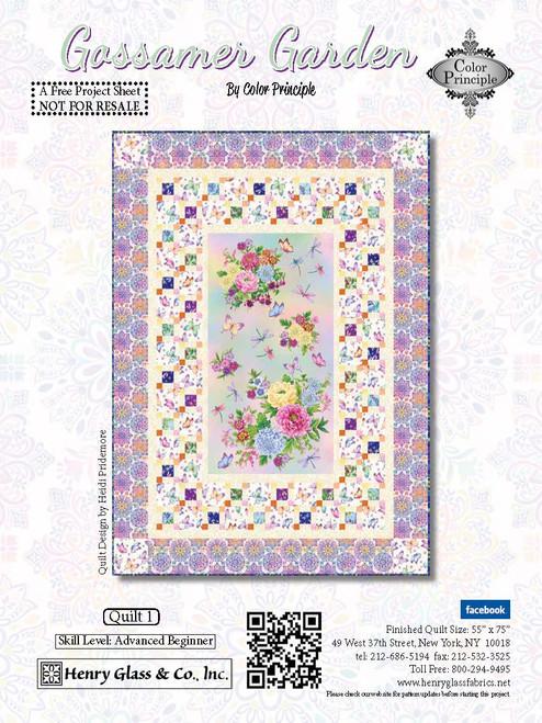 Gossamer Garden Quilt #1