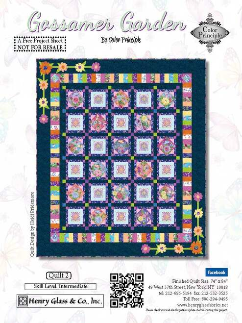 Gossamer Garden Quilt #2