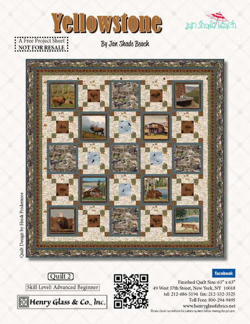 Yellowstone Quilt #2