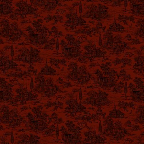 9668-88 Red || Farmhouse Christmas