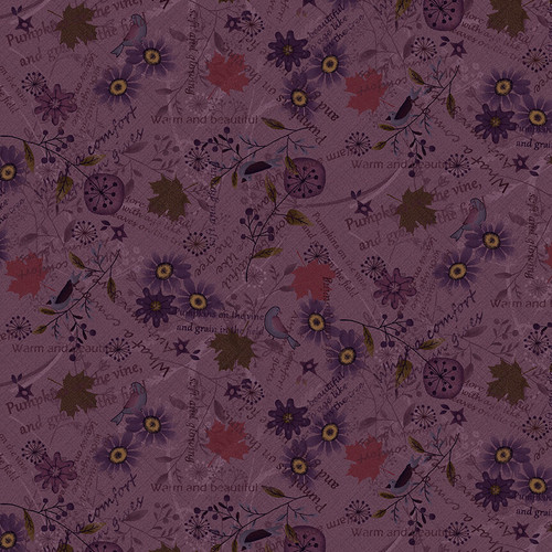 2684-55 Purple || Blessings of Home