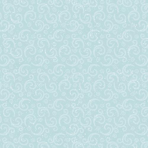 F9638-11 Aqua    I Love Sn'Gnomies Flannel