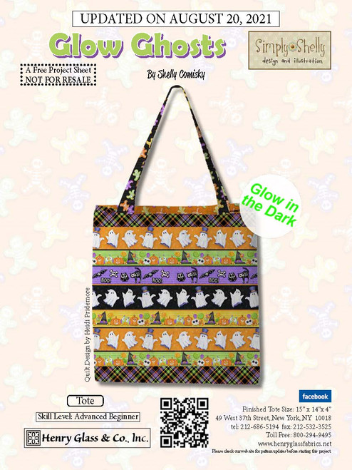 Glow Ghosts Tote
