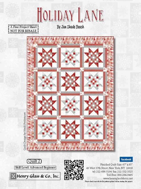 Holiday Lane Quilt #2