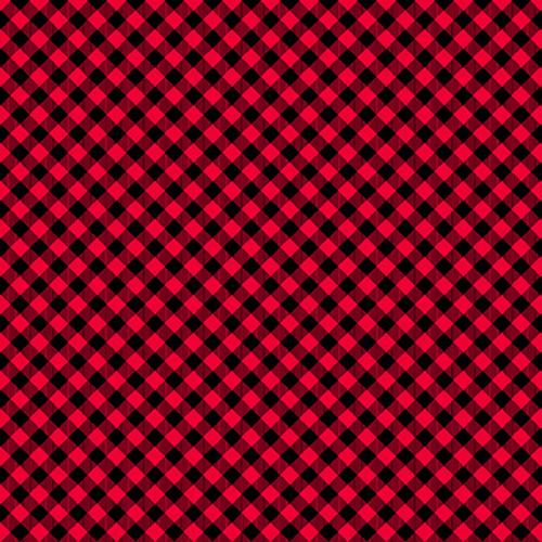 9700-89 Red/Black || Chelsea's Checks