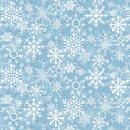 9706-11 Blue || Welcome Winter