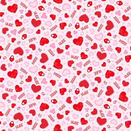 9783-22 Pink || Gnomie Love