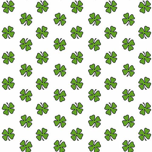 9735-6 Wht/Green || Hello Lucky
