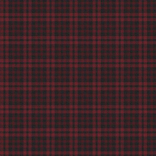F9795-55 Wine || Scrappenstance 2-Ply Flannel