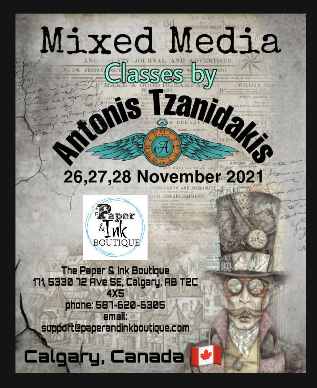 Antonis Tzanidakis Workshops