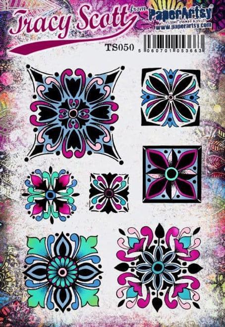 PaperArtsy: Tracy Scott Stamp Set 050