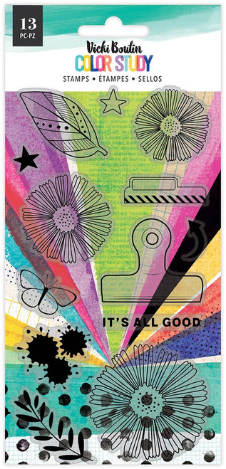 Vicki Boutin: Clear Stamp, Color Study - It's All Good