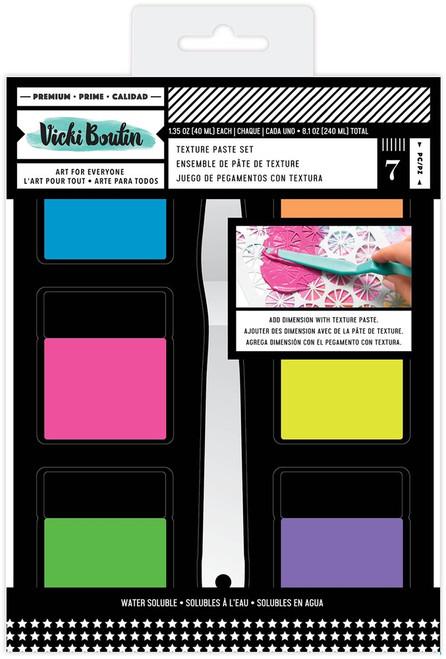 Vicki Boutin: Texture Paste Set, Color Study (7 Piece))