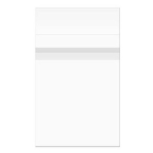 """Crystal Clear Protective Closure Bags, 4 5/8"""" x 5 3/4"""""""