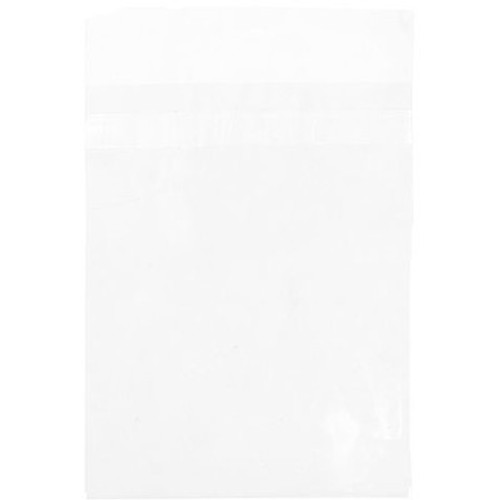 """Crystal Clear Protective Closure Bags, 5 7/16"""" x 7 1/2"""