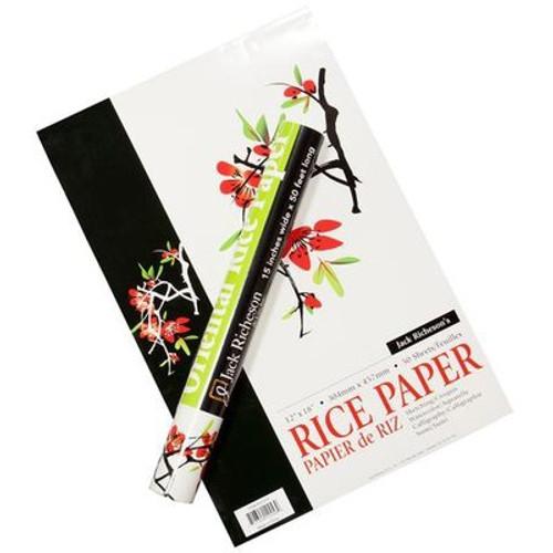 """Jack Richeson: Rice Paper, Plain 15"""" x 15"""""""