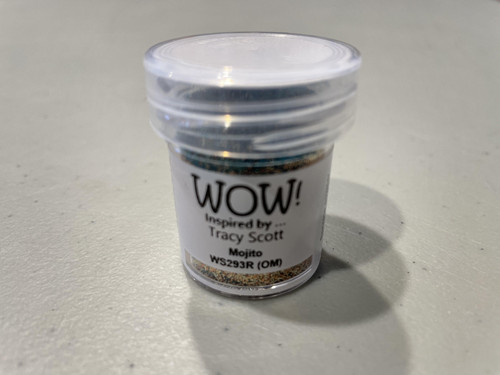 Tracy Scott: WOW! Special Color Embossing Powder, Regular -  Mojito