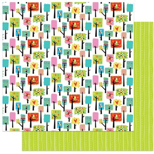 Photo Play Paper: 12X12 Patterned Paper, Birds of a Feather - Nesting