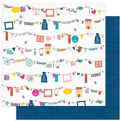 Photo Play Paper: 12X12 Patterned Paper, Wicker Lane