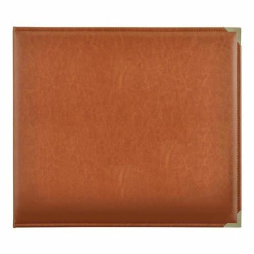 Kaisercraft: D-Ring Album, Leather - Tan