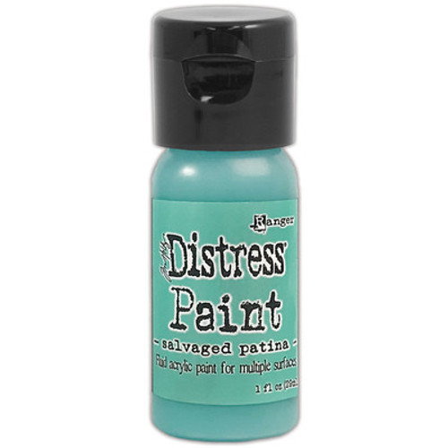 Tim Holtz: Distress Flip Top Paint - Salvaged Patina