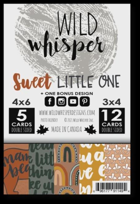 Wild Whisper Designs: Card Pack,  Sweet Little One