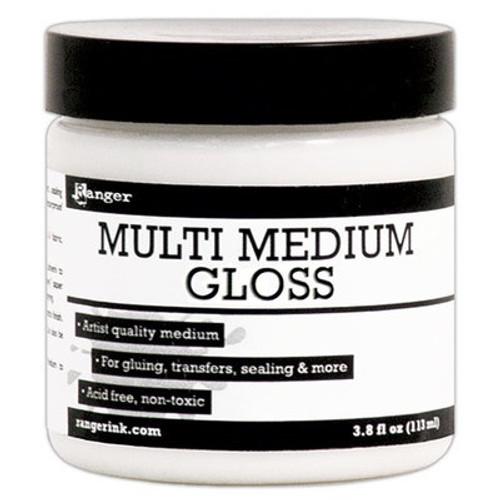 Ranger Ink: Multi Medium Gloss 4 oz