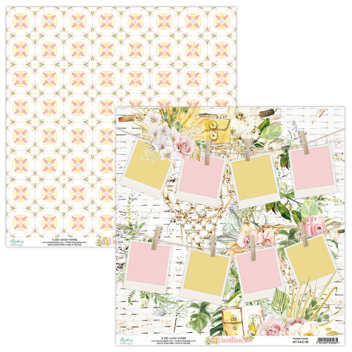 Mintay By Karola: 12 x 12 Patterned Paper, Vacation - 02