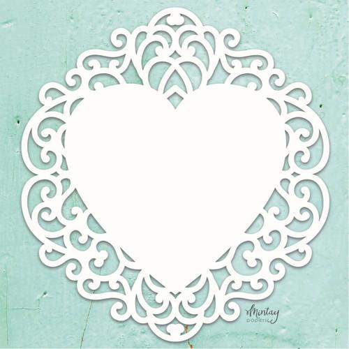 Mintay Chippies: Decor, Fancy Heart
