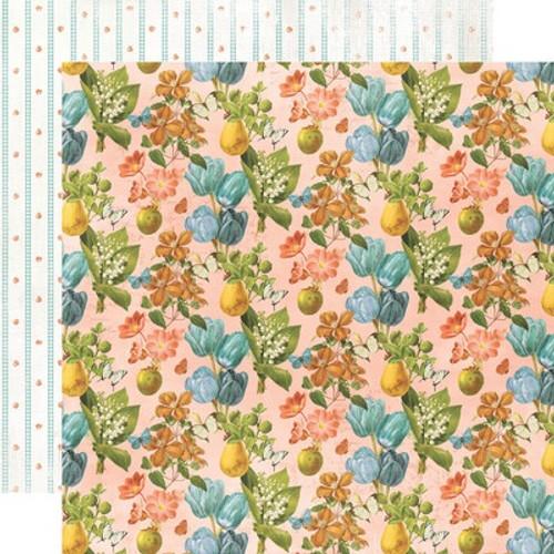 Simple Stories: 12X12 Patterned Paper, Simple Vintage - Farmhouse Garden - Homegrown