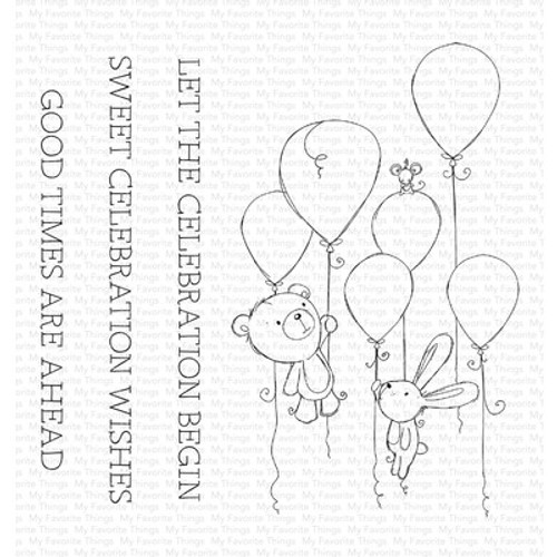 My Favorite Things: Clear Stamp,  Sweet Celebration