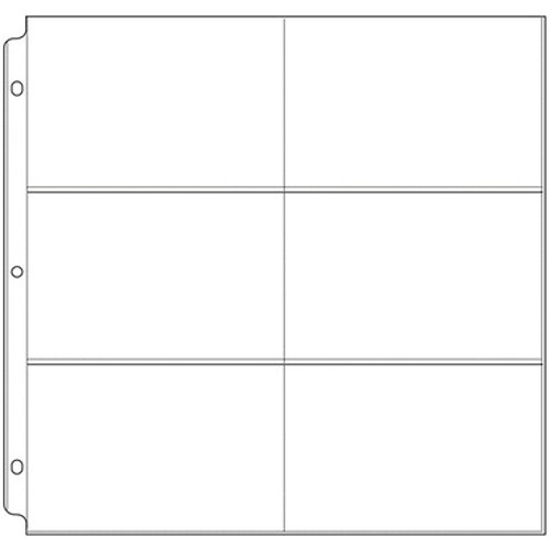 We Are Memory Keepers: 12x12 Page Protectors, 6 - 4x6 Pockets (10pack)