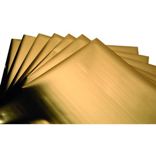 Sizzix: Effectz Decorative Foil Sheets Gold (10 Sheets)