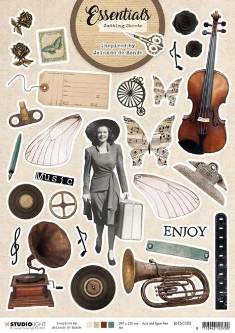 Studio Light: Cutting Sheet Essentials By Jolanda de Ronde nr. 2